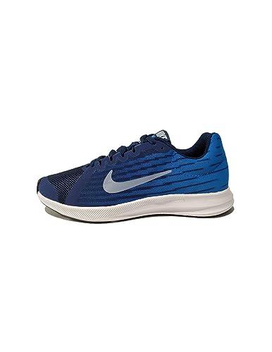 ea876ce79 Nike Boy's Downshifter 8 Blue Void/Indigo Fog/Photo Blue Size 3.5 ...