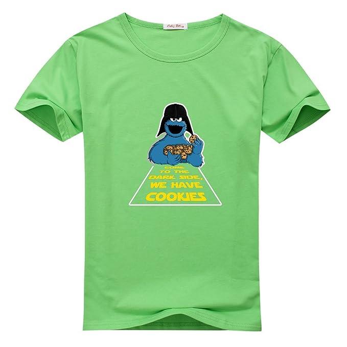 013220d27 Amazon.com: Lionly Fashion Custom Funny DARK COOKIES Women's Classic T-shirt  100% Cotton Tee: Clothing