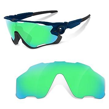 sunglasses restorer Lentes de Recambio Polarizadas para Oakley Jawbreaker (Elige el Color) (Verde