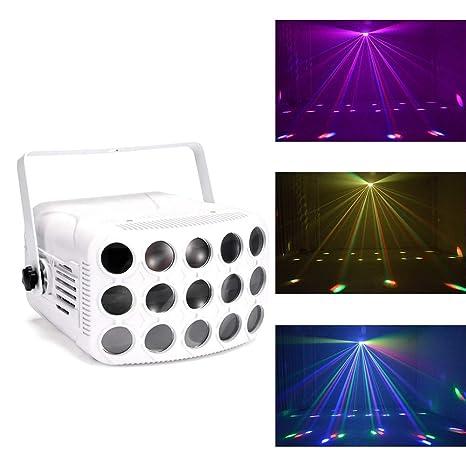 El partido enciende Mini Disco luces sonido activado la luz del ...