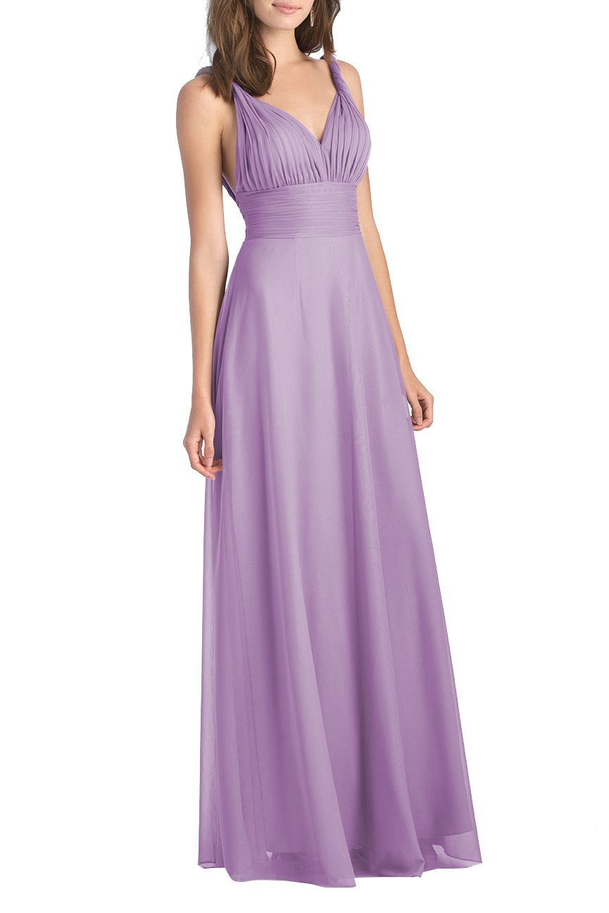 Multiway Transformer/Wrap Infinity Plus Size Bridesmaids Dress Long Evening  Gown Size 26 Light Purple