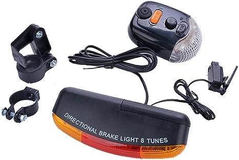 Gaddrt 7 LED Intermitente indicador de Giro de Luces luz Turn ...