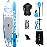"Bluefin Stand Up Inflatable Paddle Board iSUP 10'8"" 327 cm x 15.2 cm SUP Bundle"