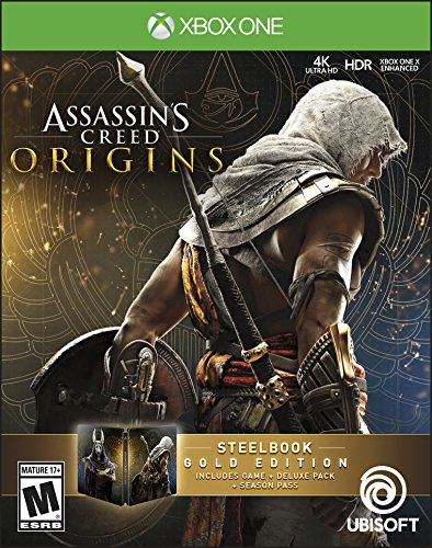 Assassin's Creed Origins Steel Book Gold Edition - for sale  Delivered anywhere in USA