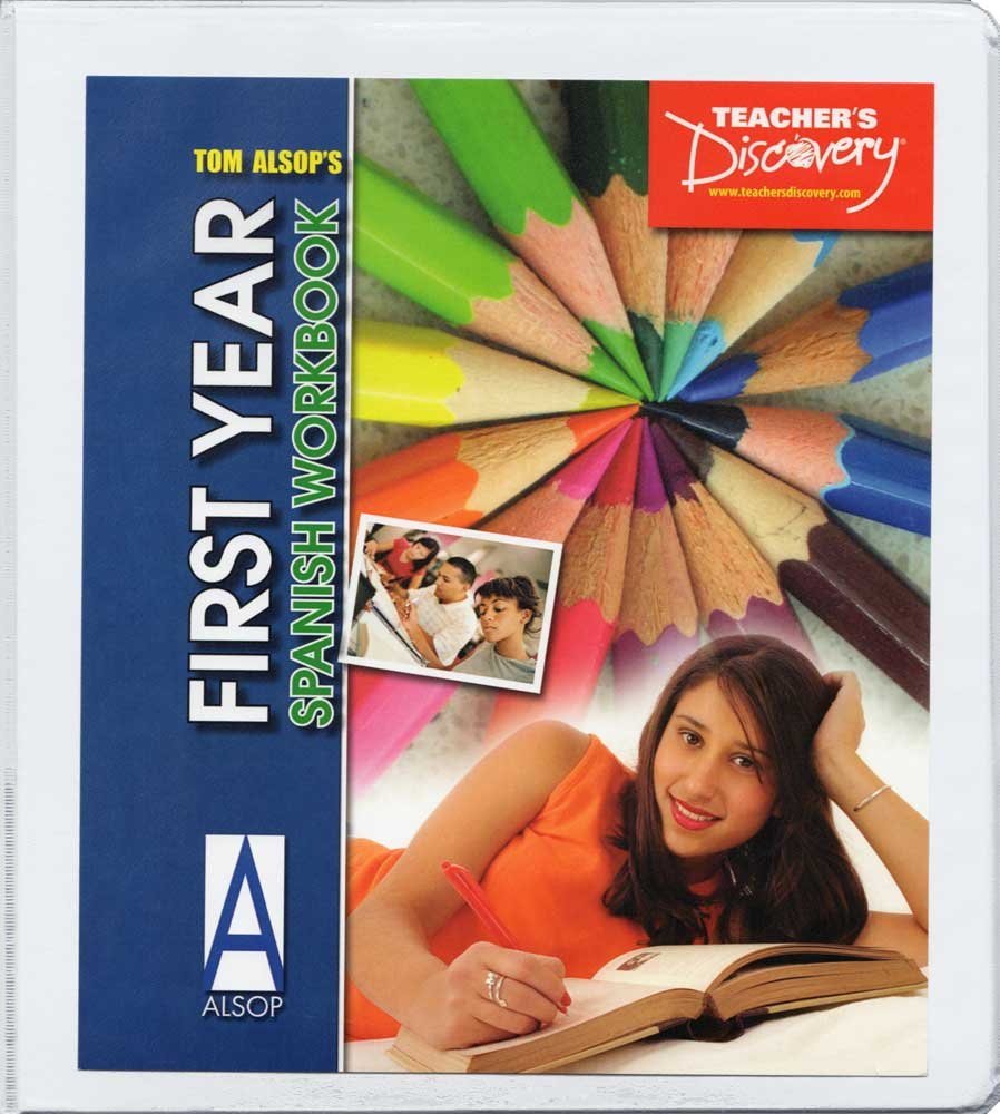 Tom Alsop's First Year Spanish Workbook - Reproducible Binder