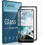 TOCOL [3PACK] for Samsung Galaxy S10e Screen Protector Tempered Glass HD Clarity, Scratch-resistant, Bubble Free Easy Installation Tray