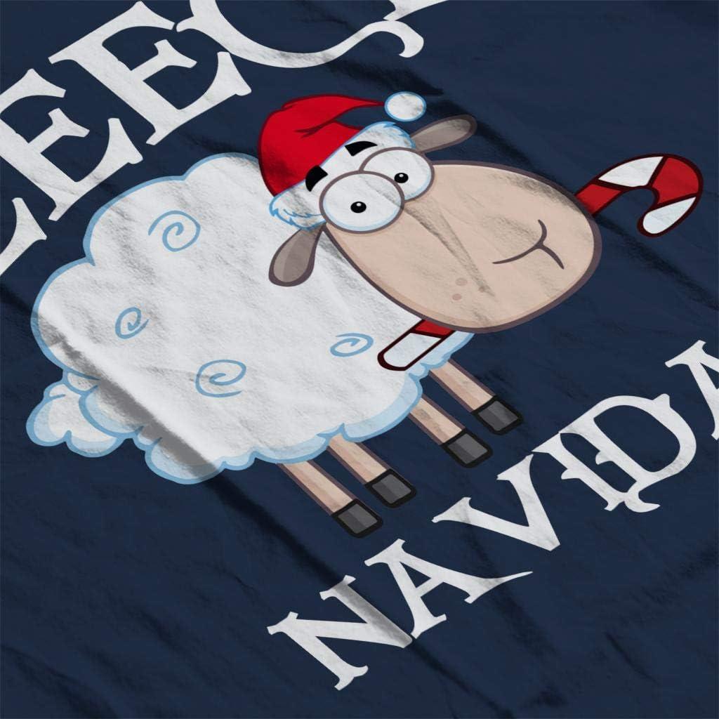 Coto7 Fleece Navidad Christmas Sheep Kids Sweatshirt