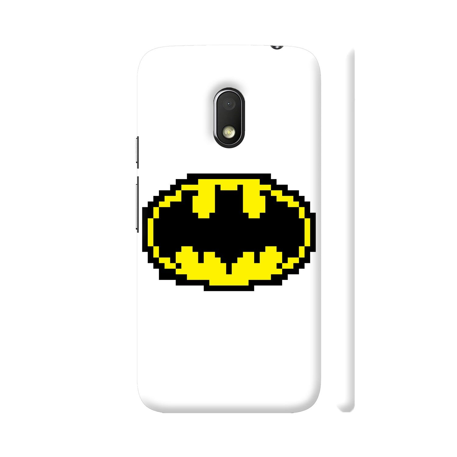 Colorpur Batman Pixel Art Printed Back Case Cover For Amazon In Electronics