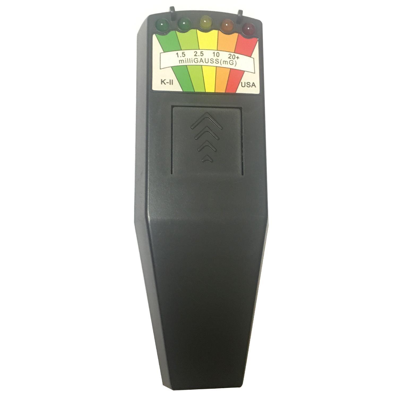 SODIAL KII K2 Medidor Gauss EMF campo electromagnetico Detector de caza fantasma