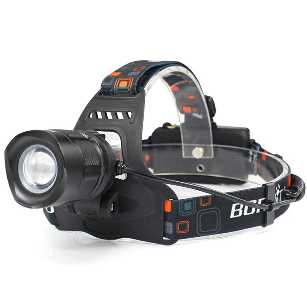 KLSHW Headlight XM-L2 Glare Zoom USB Charging Outdoor Headlights