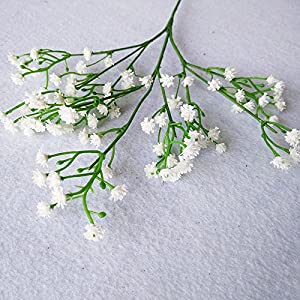 3 Fork Artificial Baby's Breath Flowers Bouquet Decorative Flower For Wedding Home Decorations 5