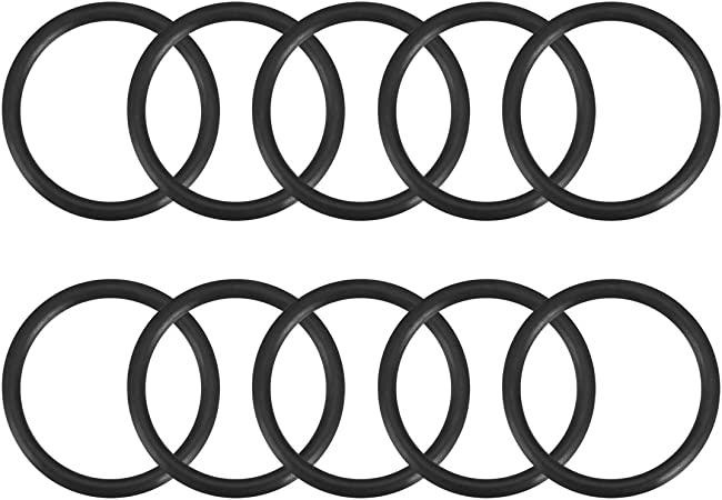 O-Ring Seals Buna-N; 14mm X 18mm X 2mm Width; Sealing Gasket Pack of 10