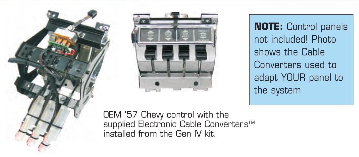 Vintage Air 1957 Chevy Tri 5 Bel Complete 4 Vent Gen Wagon Wiring Harness Iv Surefit System Kit Automotive