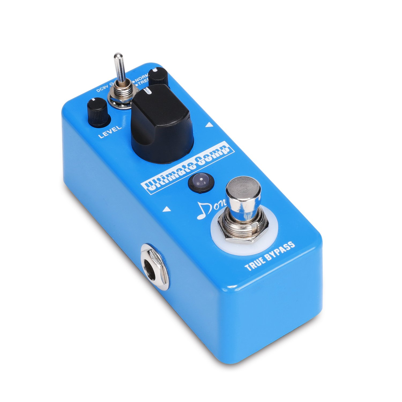 Donner -Pedal de Efectos Compresor para Guitarra Sonido Opción de Normal y Treble True Bypass: Amazon.es: Instrumentos musicales