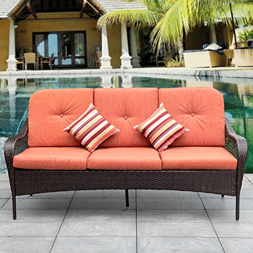 3 seat outdoor couch - 8