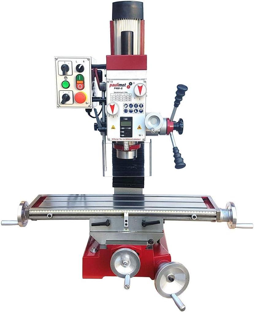 PAULIMOT Bohr-//Fr/äsmaschine F400-G mit /Ölbad-Schaltgetriebe und 2-stufigem Drehstrommotor made in Germany