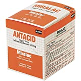North By Honeywell 171547 Swift First Aid Miralac Sugar Free Antacid Indigestion Tablet (125 Packs Per Box) (1/BX)