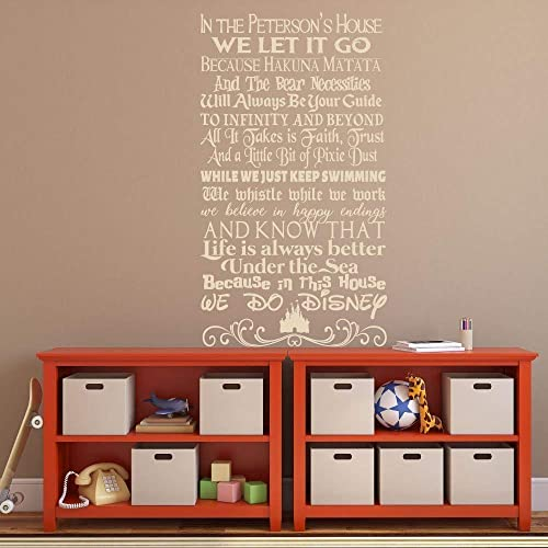 com personalized family sign wall decal fun quote mashup