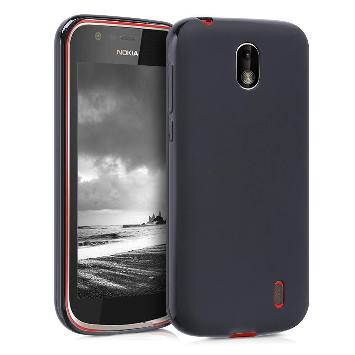 separation shoes 2eca2 5feda kwmobile TPU Silicone Case for Nokia 1 - Soft Flexible Shock ...