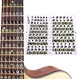 Guitar Fretboard Sticker Fret Note Map for Acoustic Electric Guitar