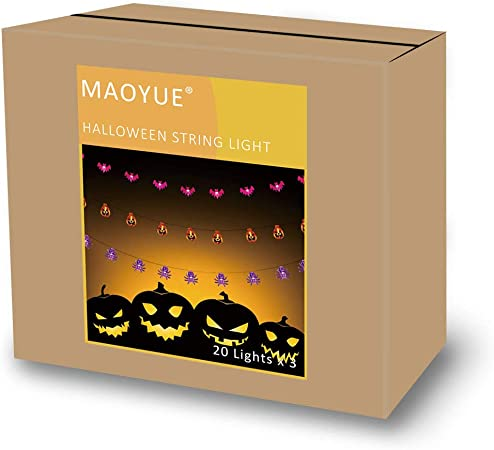 Amazon.com: MAOYUE Luces de Halloween al aire libre ...