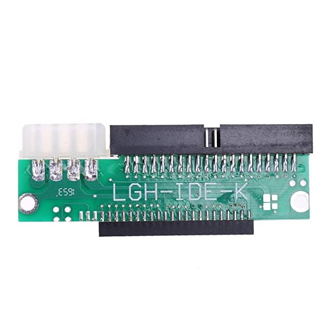 Hillrong 1pc 3.5 IDE Male to 2.5 IDE Female 44pin to 40pin Converter ...