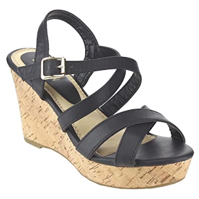 Women's Wedge Criss-Cross Sandals