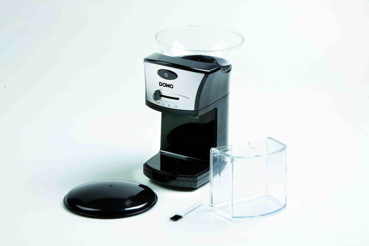 Domo DO-442KM Elektrische Kaffeem/ühle Schwarz