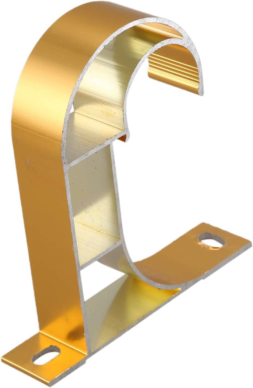TOOGOO Aluminium Legierung Stange Pole Vorhang Halterung Fit Drapieren Stangen Vorhang Feste Halter Moderne Fenster Haus Dekor