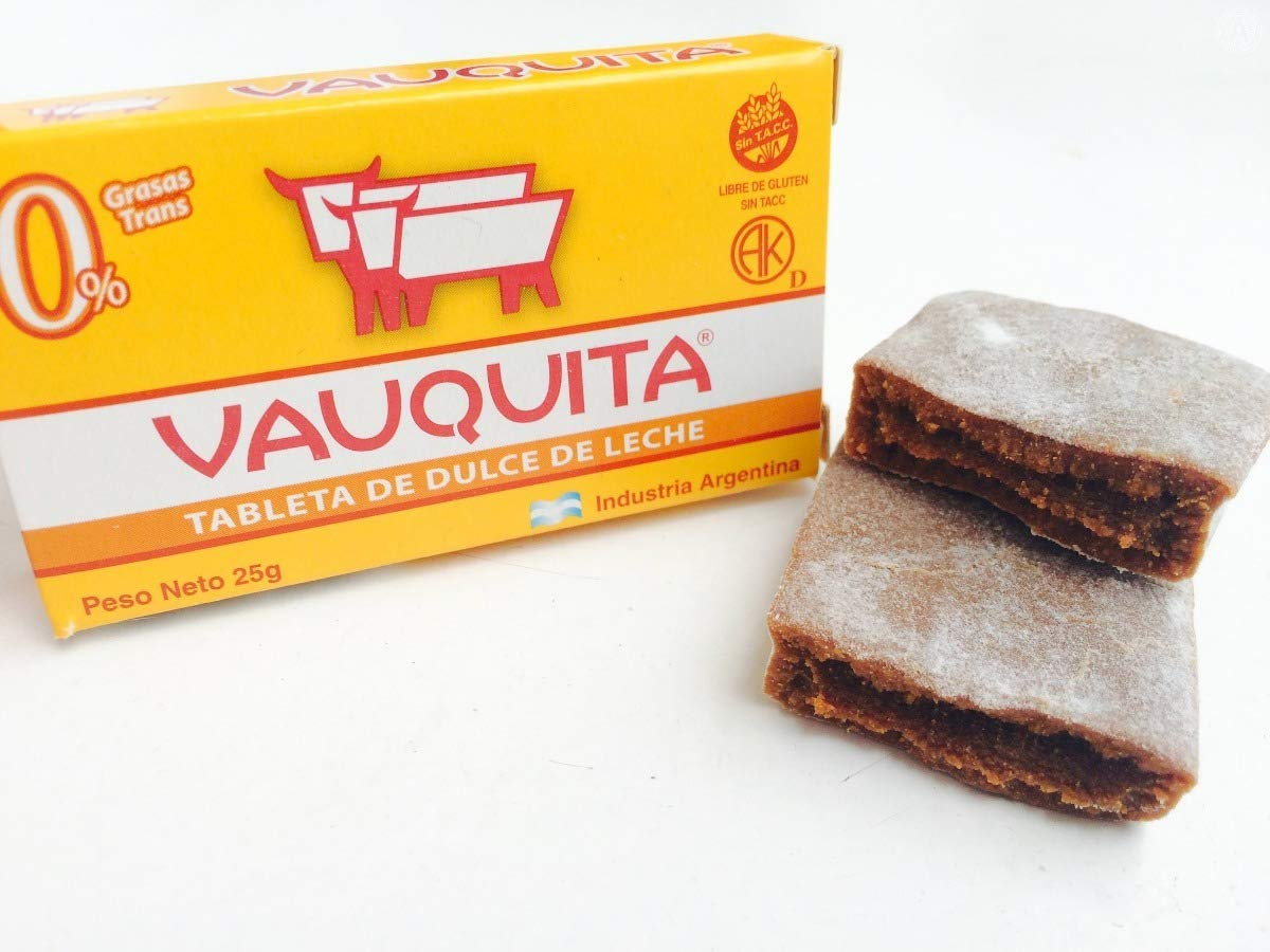 Amazon.com : VAUQUITA Tableta de Dulce de Leche 18 Units of 25 grs. Each. (450 grs.) / Milk Caramel Tablet 18 Units of .88 oz. each. (15.88 oz.
