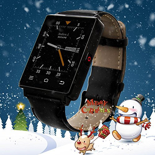 No.1 D6 Smart Watch Unlocked Cell Phone 3G WIFI Bluetooth Smartwatch With Heart Rate Monitor GPS Wrist Watch Compatible for Android 5.1,IOS