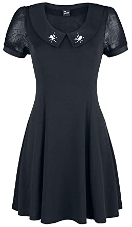 f5329f7d82f Banned Plus Size Webb Alternative Gothic Dress at Amazon Women s Clothing  store
