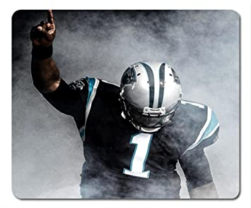 reputable site 19f29 10b48 Cam Newton NFL Carolina Panthers Mouse Pad: Amazon.co.uk ...