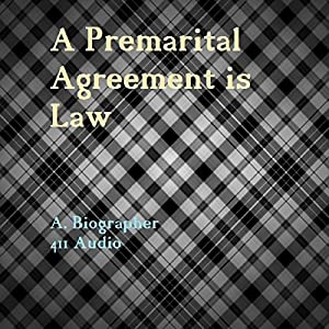 A Premarital Agreement is Law Audiobook