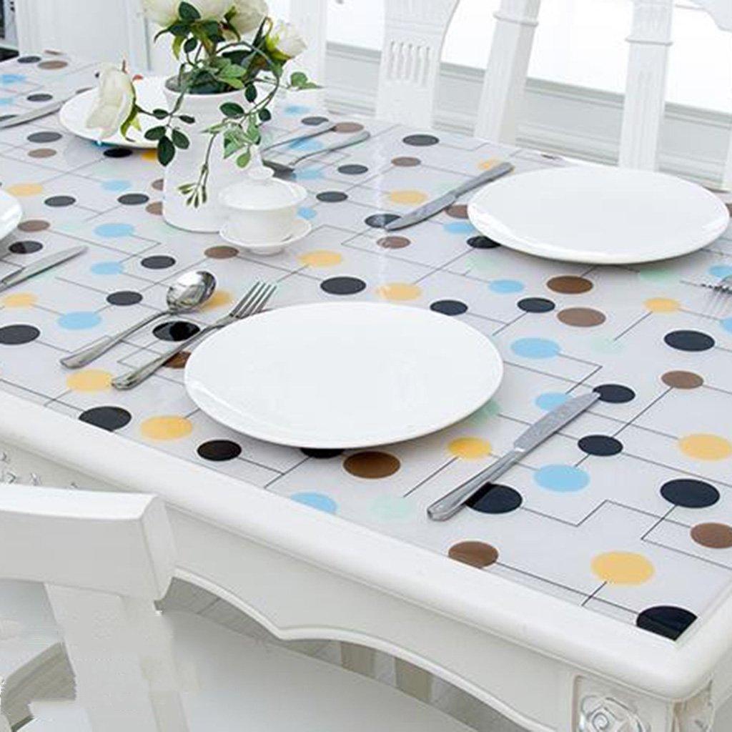 Unbekannt %Tablecloth Tischdecke wasserdicht und ölBesteändig Weich-PVC Transparente Kunststoffmatte Tischplatte Kristallplatte (Farbe   B, größe   60  120cm) B07G5LNZWT Tischdecken Grüne, neue Technologie  | Hohe Sicherheit