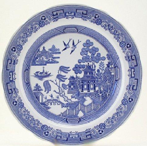 Spode Blue Room Georgian Dinner Plate(s) Willow
