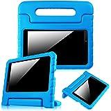 "Fintie LG G Pad F 8.0 / G Pad II 8.0 Kiddie Case - Shock Proof Convertible Handle Stand Kids Friendly [Fit AT&T Model V495 / T-Mobile V496 / US Cellular UK495 / G Pad 2 8.0 V498] 8"" Tablet, Blue"