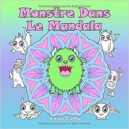 Coloriage Mandala Monstre.Monstre Dans Le Mandala Un Livre De Coloriage Pour Les