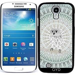 Funda para Samsung Galaxy S4 Mini (GT-I9195) - Lindo Búho Y Mandala by Nina Baydur