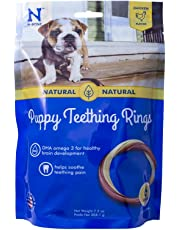 NATURAL POLYMER N-Bone Puppy Teething Ring Chicken Flavor (6-Pack)