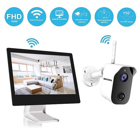 efcfaa909b5 Amazon.com  Bechol Wireless Security Camera System