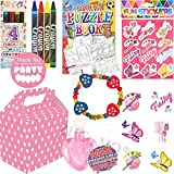 Pre Filled Party Boxes Luxury Girls Party Bag (Pink Party Bag)