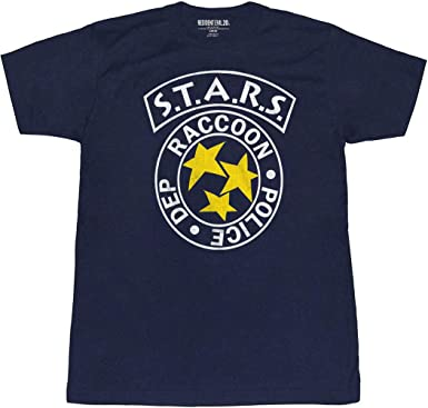 Animation Shops Resident Evil RPD Stars Raccoon City Police T-Shirt