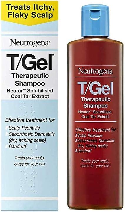 Neutrogena T Gel Therapeutic Shampoo Treatment For Scalp Psoriasis Itching Scalp And Dandruff 125ml Amazon Co Uk Beauty