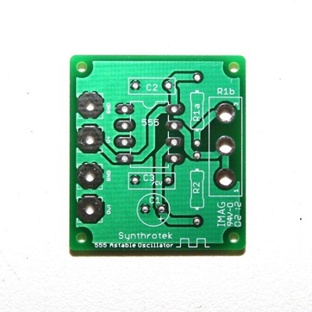 Synthrotek 555 Timer Oscillator Pcb Automotive A Based Motorcycle Alarm