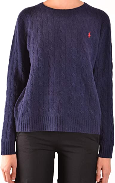 Chandail Ralph Lauren Donna XL azul oscuro: Amazon.es: Ropa y ...