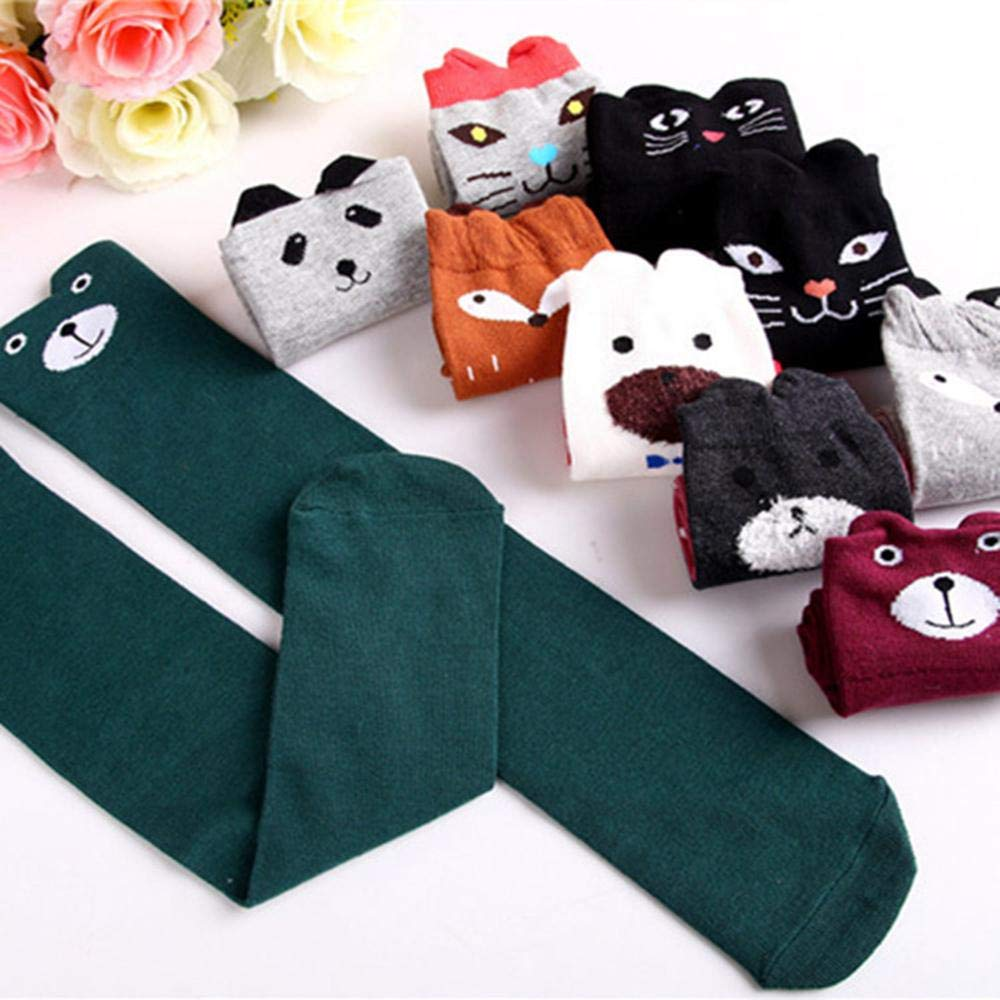 Chaussettes Montantes leegoal Femme Grey Bear