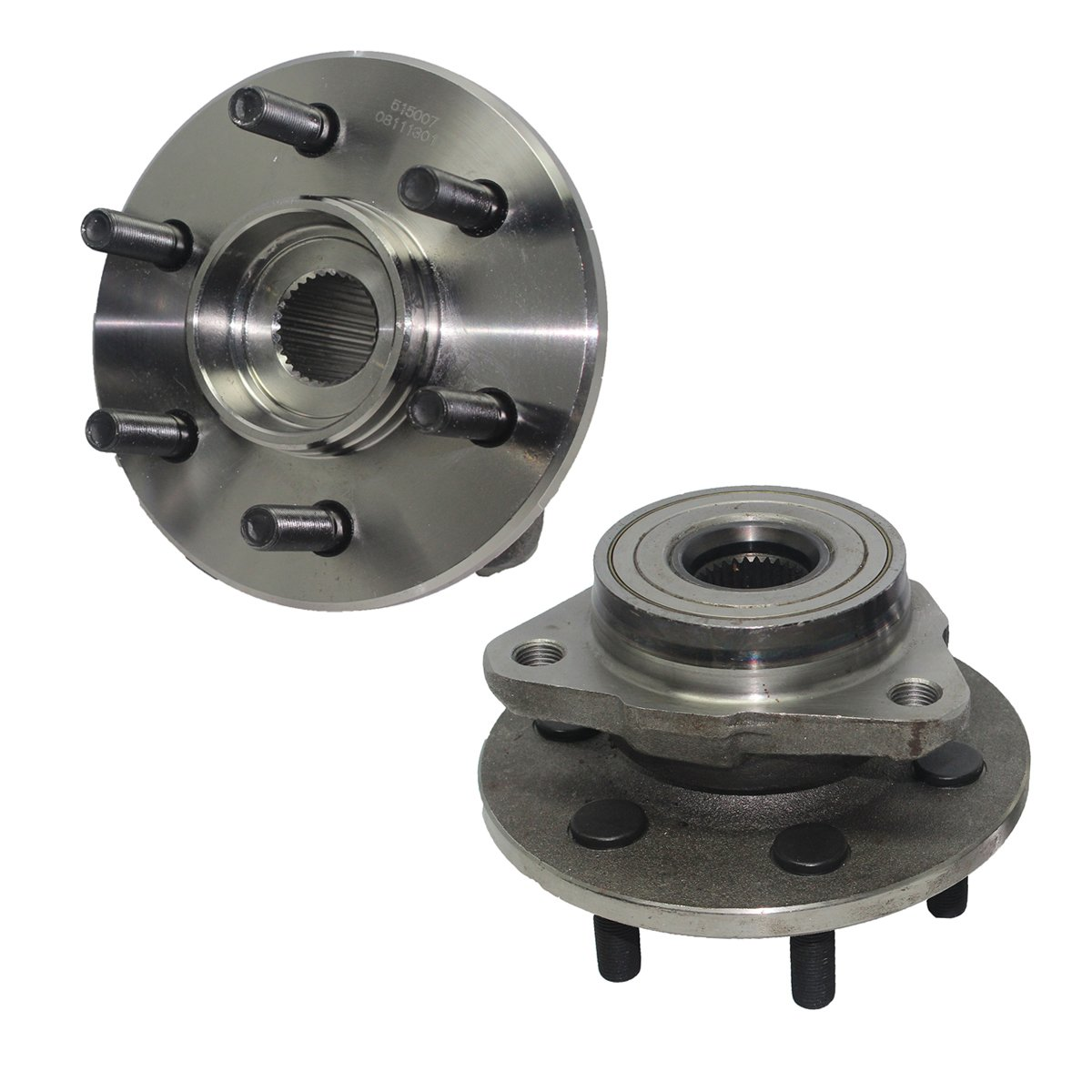Detroit Axle Front Wheel Hub and Bearing Assembly - Driver and Passenger Side fits 4x4 Only No ABS - 1997-2004 Dodge Dakota - [98-03 Dodge Durango]