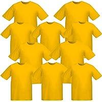 MISEMIYA - Pack*10 Pcs - Camiseta Uniforme Laboral Industrial Taller MECÁNICO TÉCNICO Fontanero ALBAÑIL- Ref.001