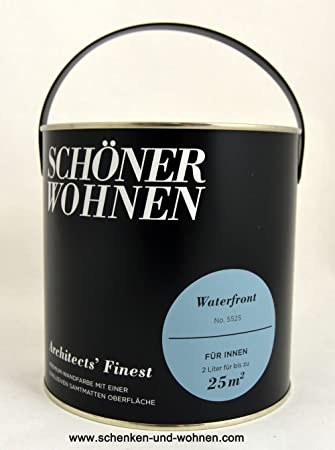 SCHÖNER WOHNEN FARBE Wand  Und Deckenfarbe Architectsu0027 Finest, Waterfront 2  L, Waterfront